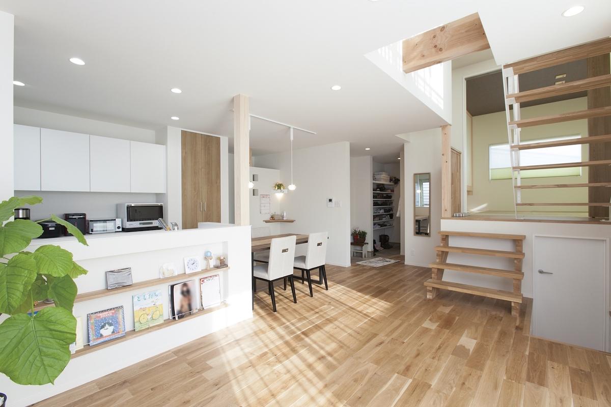 安心と快適を実現。高品質な自由設計住宅。